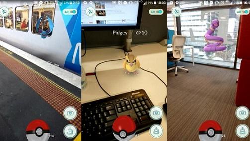 Pas op met Pokémons verzamelen tijdens het werk
