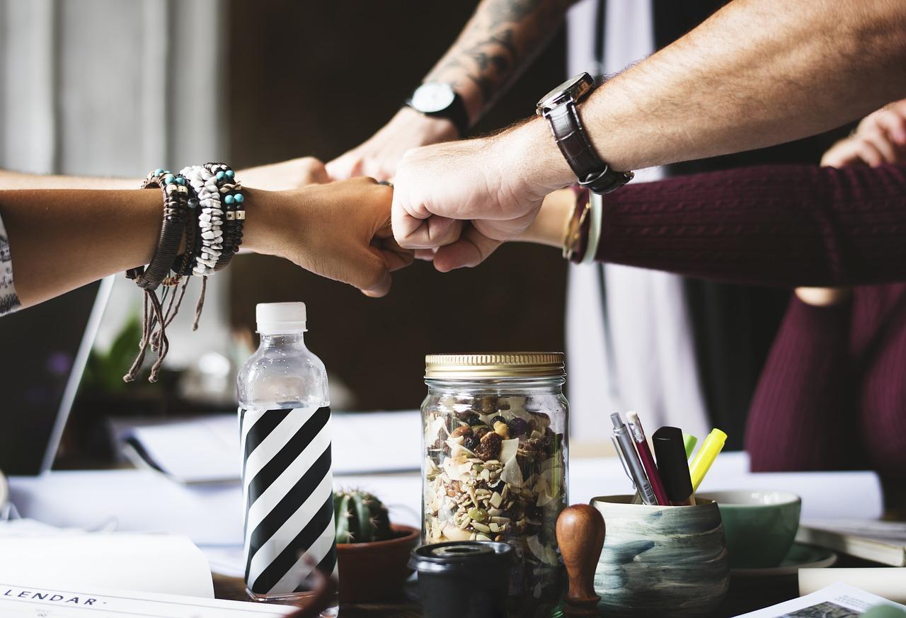 Praktikum Teamgeist Zusammenarbeit