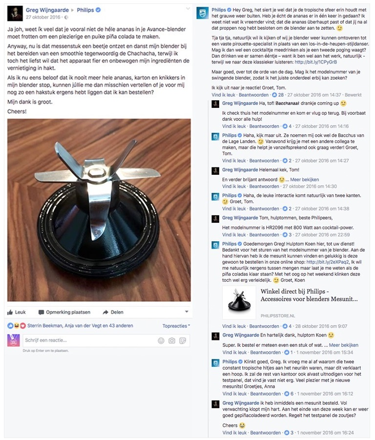 Toms geniale antwoord op het blenderprobleem