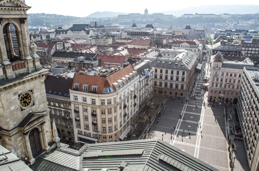 Budapest during the day