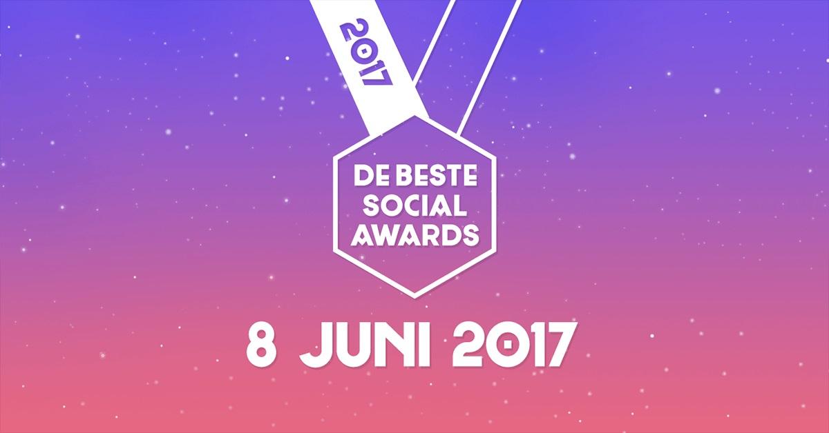 De beste social awards 2017