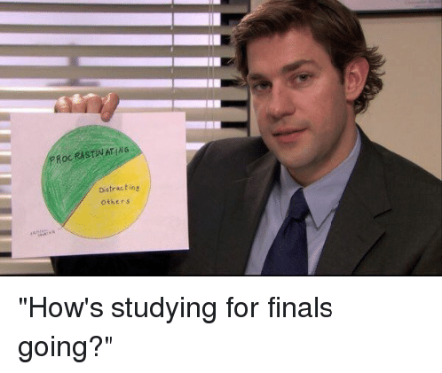 Meme über Lernen im Studium