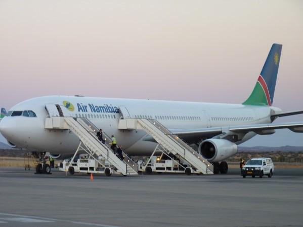 Flugzeug von Air Namibia