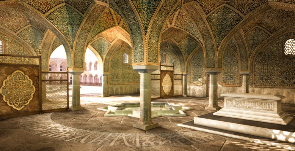 Building in Isfahan