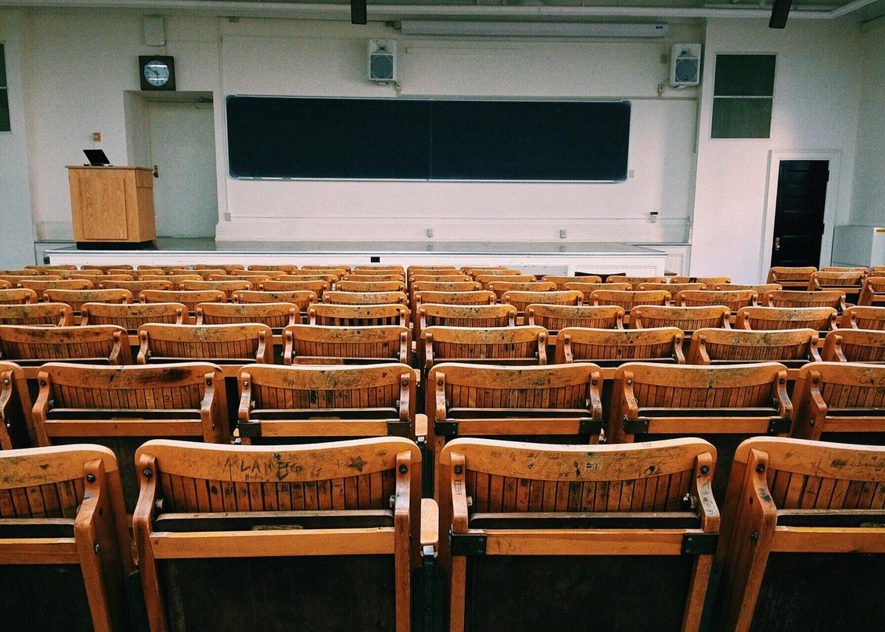 aula en la universidad