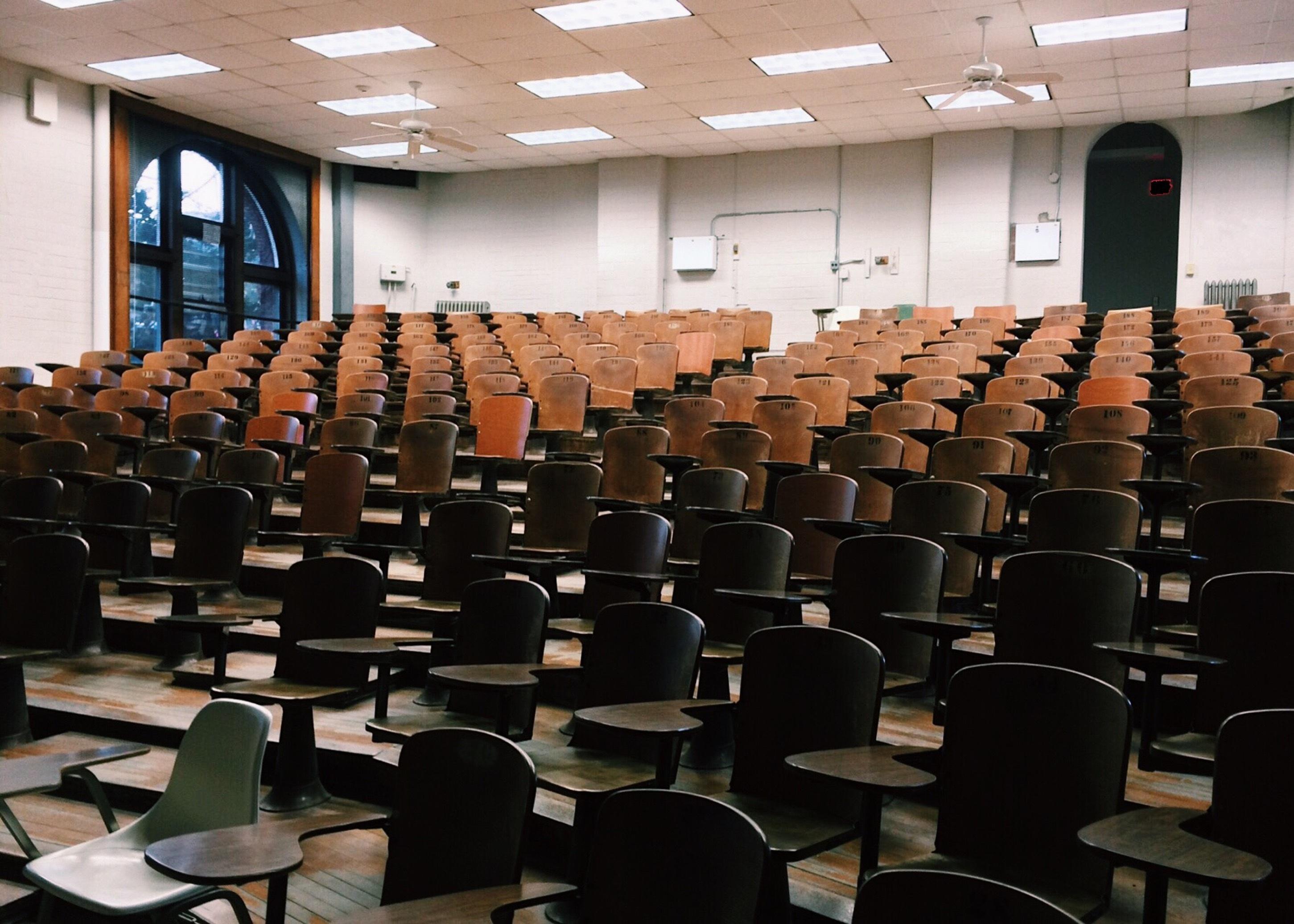 Hörsaal in der Universität