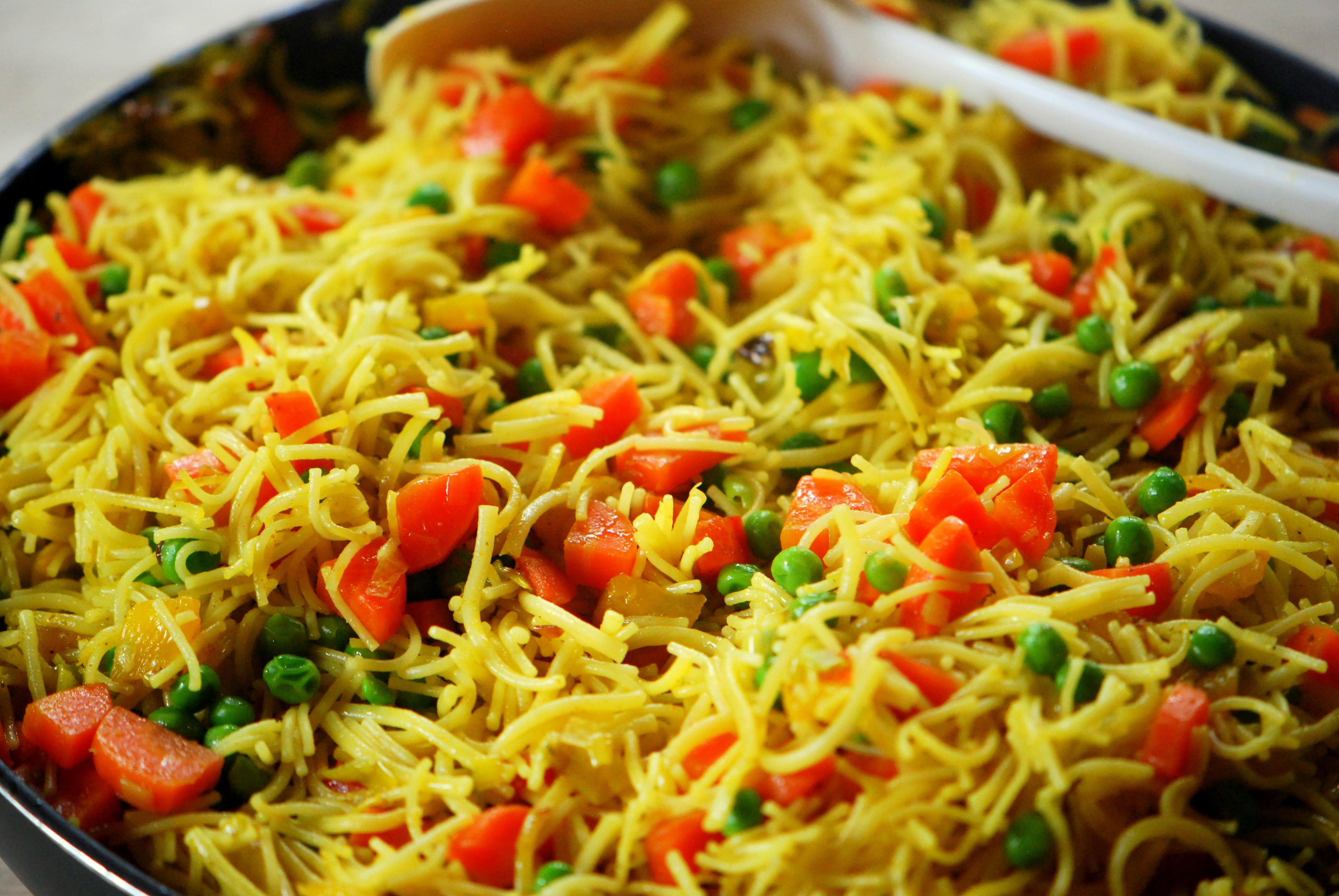 Studentenküche Vegetarische Paella