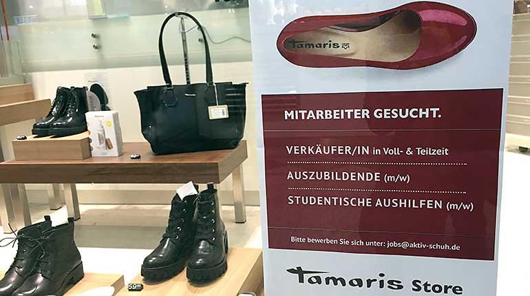 Im Nebenjob Im Tamaris Store Arbeiten Nebenjob Zentrale