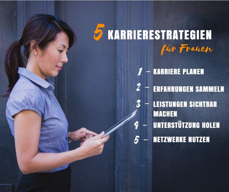 Karrierestrategien für Frauen